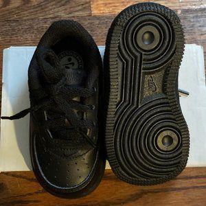 Nike Shoes | Black Airforce Hard Bottom